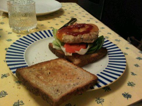 Turkey Burger a la Sasha
