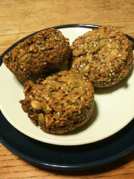 Banana Nut and Seed Biscuit