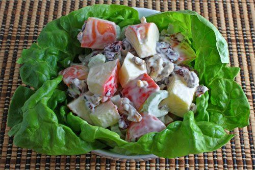 Easy Waldorf Salad