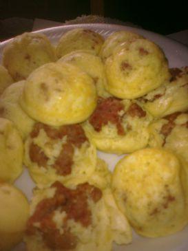 Apple Sausage Pancakes
