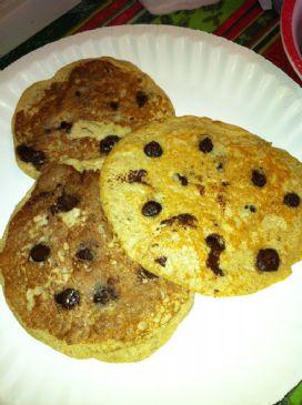how to make low fat banana pancakes