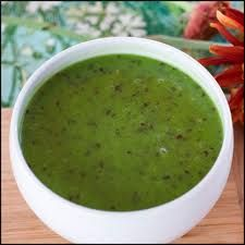 Spicy Kale Soup- Raw