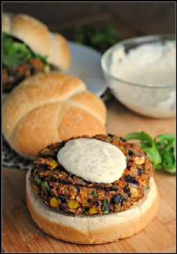 Black bean and Quinoa burgers