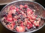 Quinoa Almond Berry Salad