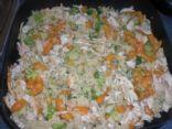 Ground Turkey with Quinoa, Carrots and Broccoli
