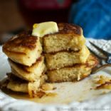 Paleo Fluffy Pumpkin Pancakes
