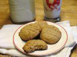 Honey Peanut Butter Cookies (by Farmgirl Fare)