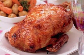 CRISP ROAST DUCK WITH PORT WINE GLAZE