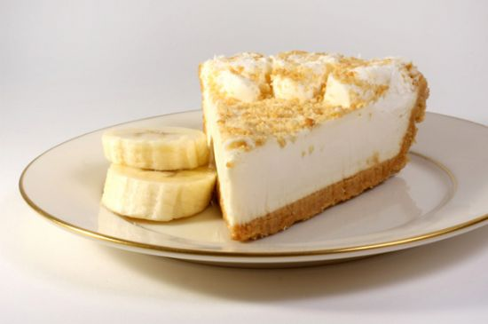 Banana Cream Pie Mousse- low fat, 75cal/serving