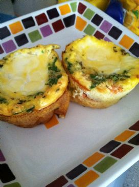 Italian Style Egg Muffins
