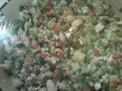 Lendy's Quinoa Tabouli Salad 1/2 cup servings
