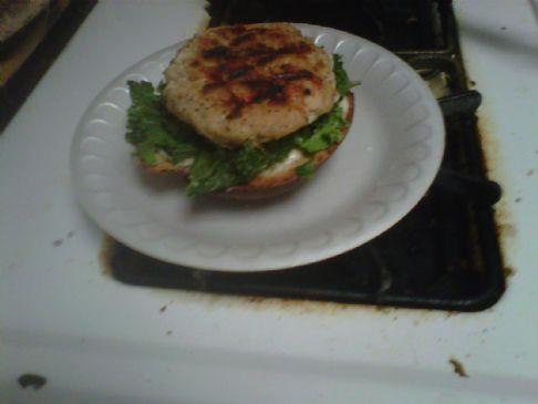 Habanero & Herb Chicken Burgers