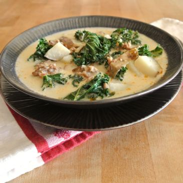 Healthy Zuppa Toscana Soup