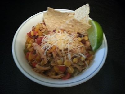JP's Healthy Chicken Tortilla Soup