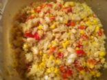 Whie bean Veggie Couscous