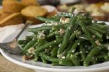 Green Beans with Blue Cheese