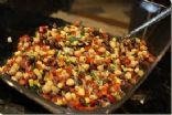 Black Bean, Corn, Tomato Bake