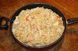 Vicki's One skillet Chicken Casserole