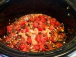 Crockpot Creamy Mexican Chicken