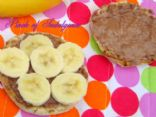 Banana Pralinutta English Muffin