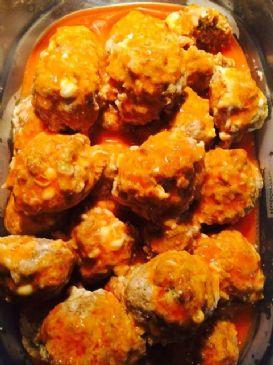 Buffalo Blue Meatballs