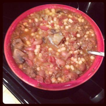 Velvet Chili with Beans & Veggies