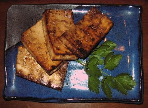 Baked Tofu Steak