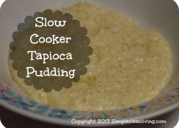 Slow Cooker Tapioca