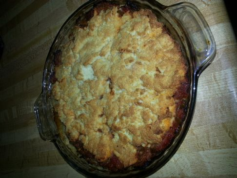 pulled pork tamale pie