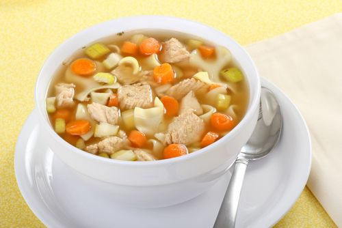 Tummy Soothing Chicken Noodle Soup