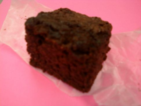 Brownie (secret zucchini!)