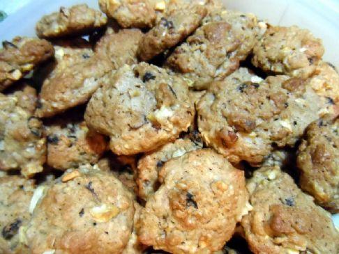 Home Team Raw Apple Cookies