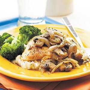 Mushroom-Herb Chicken