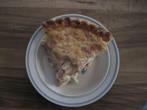 Ham & Swiss Cheese Quiche