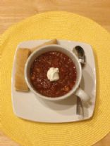 Bison Chili, by ChefChicoB