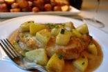 Pork Chops with Warm Apple Sauce