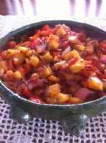 Pineapple Pepper Salsa