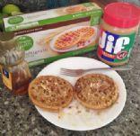 Peanut Buttery Waffle Breakfast
