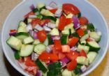 Cucumber and Tomato Salad/Snack