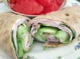 Cucumber Turkey Wrap