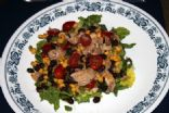 Corn, Black Bean and Tomato Salad with Chicken