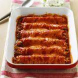 Guiltless Turkey Enchiladas