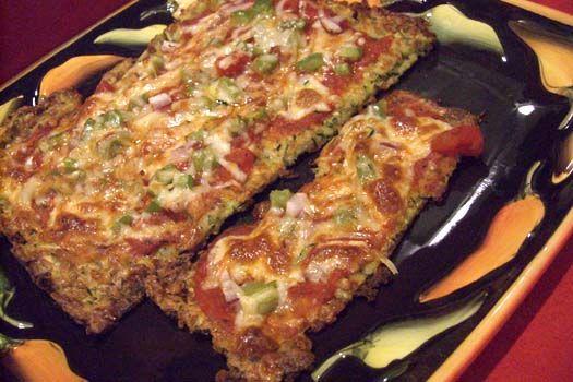 Gluten-Free Zucchini Pizza Crust
