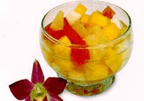 Simple 4 Fruit Salad
