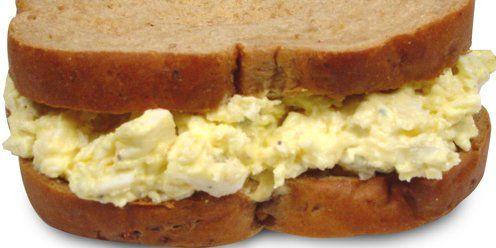 Egg Salad on Wheat Toast