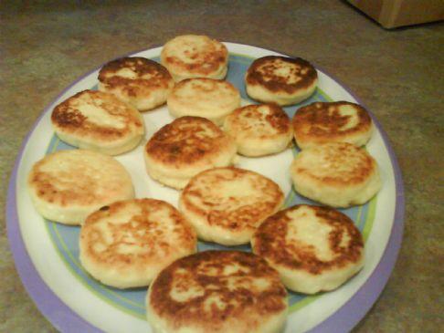 Syrniki Cottage Cheese Cakes Recipe Sparkrecipes