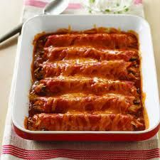 Guiltless Turkey Enchiladas