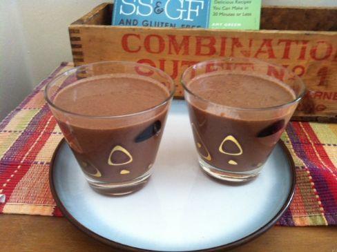 RAW VEGAN - Chia, Almond, Cocoa, Soy pudding