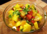 Fresh Mango Cucumber Salsa