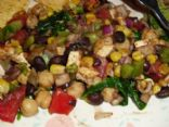 Black Bean, Corn and Tofu Salad